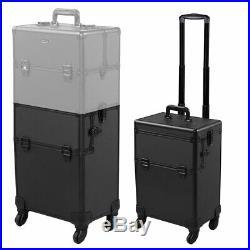 PRE-SALES 3 in 1 Cosmetic Makeup Case Salon Trolley Train Organizer Storage Box