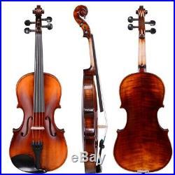 PRE-SALES 4/4 Full Size Violin Stradivari 1721 Copy German Style Fiddle Case Bow