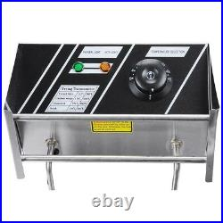 PRE-SALES Electric Countertop Deep Fryer Dual Tank Commercial Restaurant 24 L