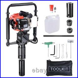 PRE-SALES Gas Powered T-Post Driver 32.7cc 1.2HP 2-stroke Gasoline Engine Push