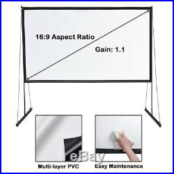 PRE-SALE 100 Portable Detachable Projector Screen with Stand Movie Projection