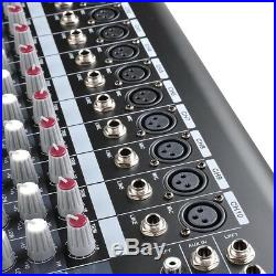 PRE-SALE 10 Channel Pro DJ Power Mixer USB System Amplifier Amp 16DSP LCD Record