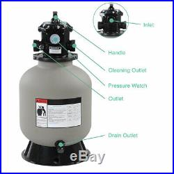 PRE-SALE 16 Swimming Pool Sand Filter Above Inground Pond Fountain