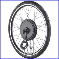 PRE-SALE 48V 26 Front Wheel Electric Bicycle Kit E-Bike Cycling Hub Conversion