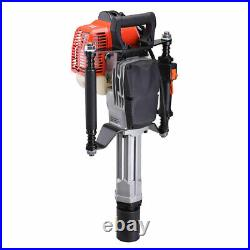 PRE SALE 51.7cc 1300W Gas T Post Driver Petrol Garden Fence Pile Hammer with EPA