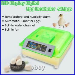 PRE-SALE 56 Egg Incubator Digital Hatcher Turning Automatic Temperature Control