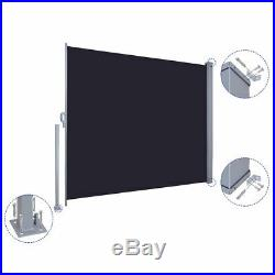 PRE-SALE 71x118 Patio Retractable Wall Side Awning Privacy Wind Screen Divider