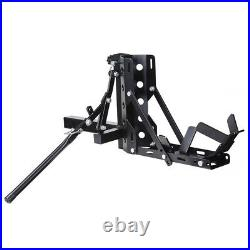 PRE SALE 800lb Motorcycle Scooter Carrier 2 Tow Trailer Hauler Hitch Mount Rack