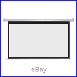 PRE-SALE 92 169 Auto Projector Screen 80X45 Remote Control Theater Projection