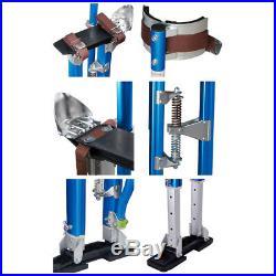 PRE-SALE Drywall Stilts 24-40 Inch Aluminum Tool Stilt For Painting Taping Blue