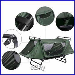 PRE-SALE Portable Single Camping Tent Cot Folding Waterproof Hiking Bed Fly Bag
