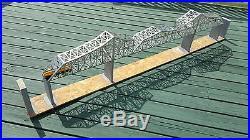 P&LE Bridge, Cantilever design, HO gauge L. E. Assembled with base NEW! Sale