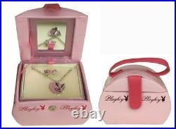 Playboy Bunny Necklace & Earring Jewellery Giftbox Sale