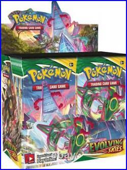 Pokemon TCG Evolving Skies Booster Box Factory Sealed Pre-Sale SHIPS 8/27