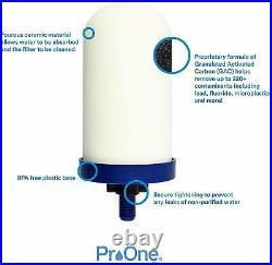 Propur TRAVELER POLISHED + 1 5 Filter Element SCRATCH & DENT SALE SAVE $54.75