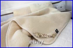 SALE! 100% Natural Australian Merino Wool Duvet Quilt All Season Togs King size