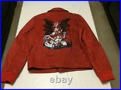 SALE APC x KID CUDI HELL JACKET RED SIZE L & XL BRAND NEW MSRP $2495