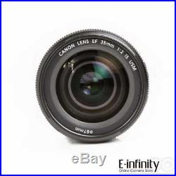 SALE BRAND NEW Canon EF 35mm f/2 IS USM Prime Fixed Focus Lens EXPRESS