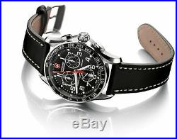 SALE BRAND NEW Victorinox Men's Chronograph Leather Watch 241444 WITH BOX/TAG