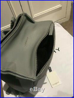 SALE Brand New Authentic Givenchy Pearl Grey Leather Convertible Backpack Bag