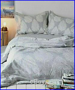 SALE Brand New Urban Outfitters Plum & Bow KYLEE Grey White Full / Queen Duvet
