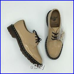 SALE Dr. Martens x Undercover UC Beige Patent 1461 Size 7 13 BRAND NEW IN HAND