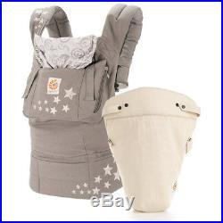 SALE! Ergobaby Von-Geburt-An-Paket Galaxy Grey mit Easy Snug Baby Carrier