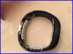 SALE! FOSSIL PHILIPPE STARCK S+ARCK Black O-Ring O Ring Watch PH1085 Museum Box