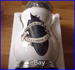 SALE! HENDRICKS Gin Official Mercandise. CERAMIC Cucumber Pot&Lid BRAND NEW 2019