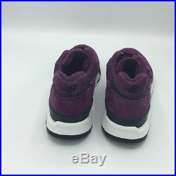 SALE NEW BALANCE 998 M998 M998CM PURPLE BLACK Size 9.5-10.5 BRAND NEW