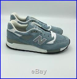 SALE NEW BALANCE M998LL Light Blue White Size 7-13 BRAND NEW IN HAND