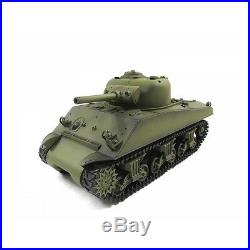 SALE NEW THE FURY Smoke & Sound 2.4Ghz M4A3 Sherman Radio Control RC Battle Tank