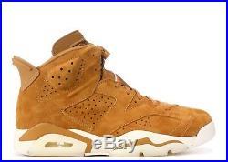 SALE Nike Air Jordan 6 Vi Golden Harvest Wheat 384664-705