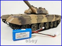 SALE PRICE UK Heng long Radio Remote Control 1/16 RC Tank T90 UK V6.0S Smoking