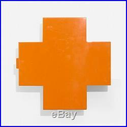SALE, RRP £776, Original Cappellini Cross Cabinet Orange, BRAND NEW