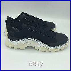 SALE adidas Detroit Runner Raf Simons Black White F34245 Size 5-12 BRAND NEW