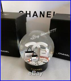 SUPER SALEBrand New CHANEL 2019 Xmas ViP Gift Rare Luxury Snow Globe