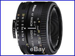 Sale 50mm D Nikon 50mm f/1.8D Nikkor Af standard Lens Kit Memory + Filter, etc