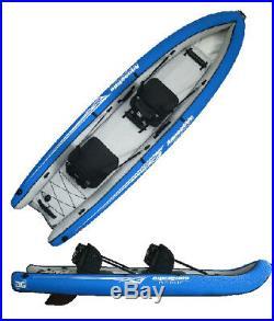 Sale! Aquaglide Rogue 2 Sit-on-Top Tandem Inflatable Diving Kayak, orig. $299
