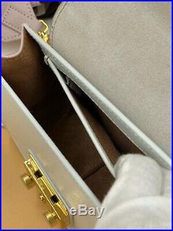 Sale! Brand New Authentic Furla Metropolis Brava Gesso-Onice Crossbody Bag