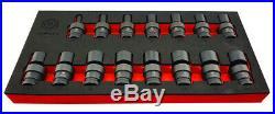 Sale Britool Hallmark 1/2 Drive Flexi / Uj Impact Socket Set 10-24mm