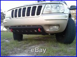 Sale! Bumper Radiator skid plate with shackle tabs for Jeep Grand Cherokee WJ