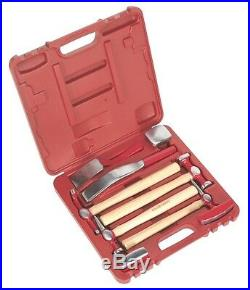 Sale! Panel Beating Set 9 Pce Case Hammers Bumping Skinning Pick Dollies