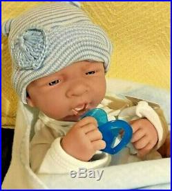 Sale Precious Preemie Boy Berenguer Preemie First Yawn Takes Pacifier New