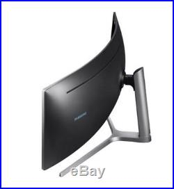 Sale SAMSUNG C49HG90 49 QLED Quantum Dot 144Hz HDR 329 Curved Gaming Monitor