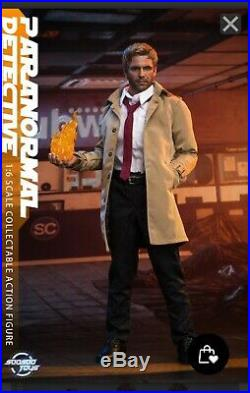 Sale price Brand New 1/6 Soosootoys Paranormal Detective Constantine Figure