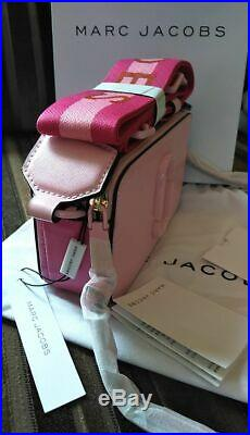 Sales MARC JACOBS Snapshot ceramic Small Camera Bag pink hot