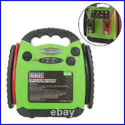 Sealey 12v 900A Portable Emergency Car Battery Jump Starter Power Pack RS1312HV