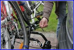 Spring SALE! Platform 3 black Bikes Rack Cycle Carrier Towbar Mounted with tilt