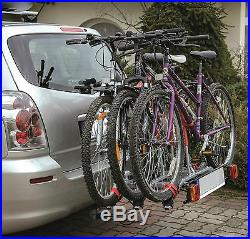 Spring SALE! Titan 3 Bike Rack / Cycle Carrier Towbar Mounted Tilting 7pin plug